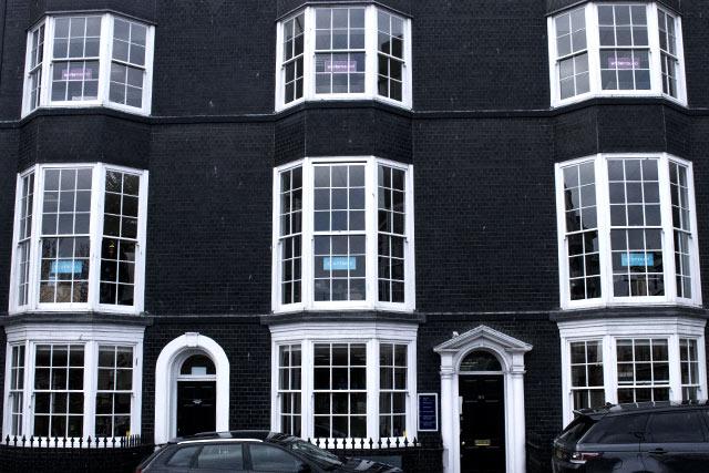 Wooden window frames Old Steine Brighton by Hollingbury Joinery Brighton