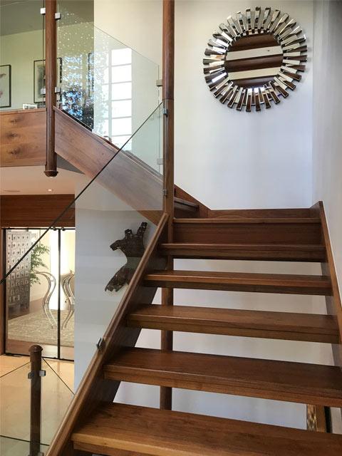 Hand made staircase brighton carpenter